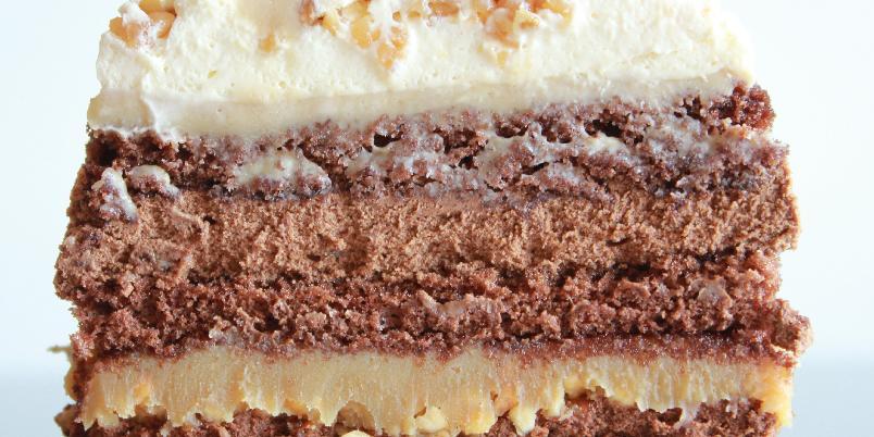 Snickerskake - Denne kaken har blitt tatt svært godt imot av de som har smakt på den.