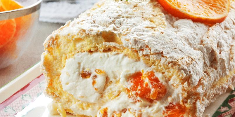 Budapestrull - Denne kaken kan med fordel lages ferdig dagen i forveien.