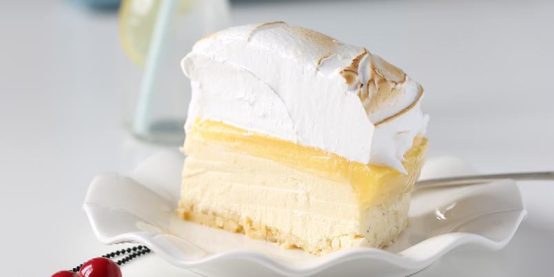Baked Lemon Cheesecake - Dette er manuelas absolutte favoritt når det kommer til ostekaker!