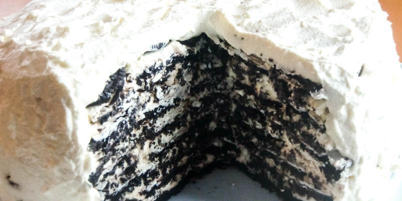 Oreokake i 11 lag (Oreo Icebox Cake) - Amerikansk Oreokake med wow-effekt!