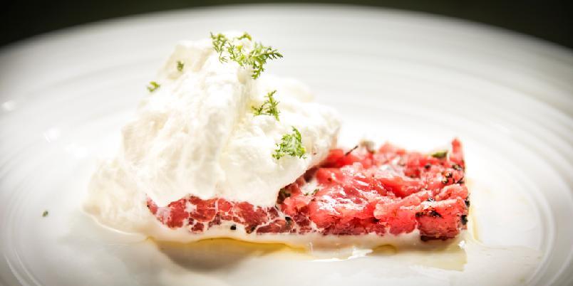 Tartar med pepperrot - Tartar er godt. Men, det har aldri vært bedre enn med denne pepperrotkremen.