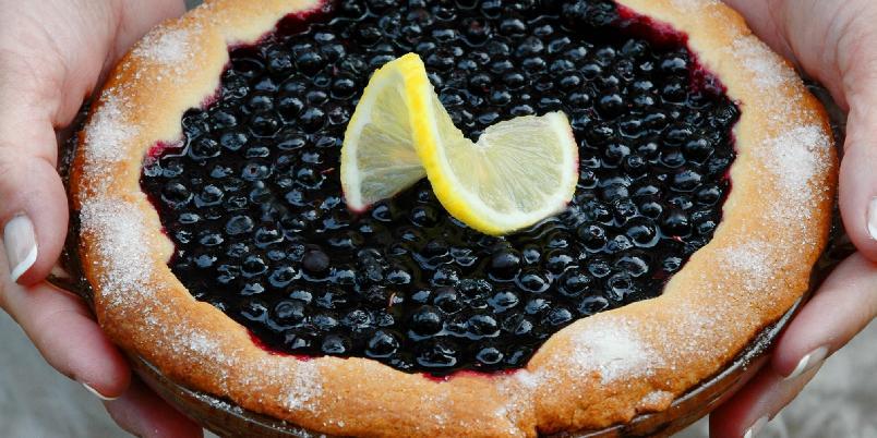 Pai med blåbær og sitron - Den perfekte høstdesserten!