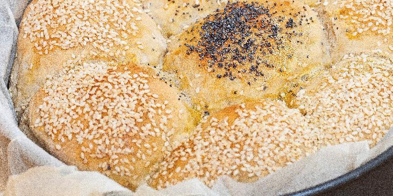 Byggblomster - Dette brødet er perfekt å dele med andre.