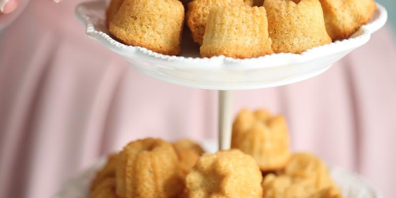 Financiers med vanilje - Her får du oppskriften på en lekker, fransk fristelse.