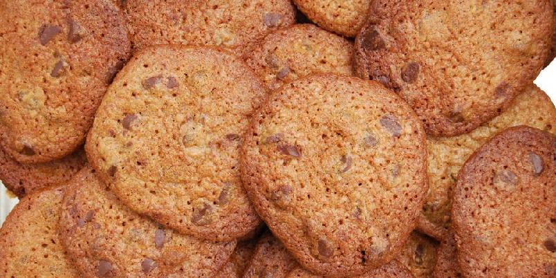 Sjokoladecookies - Lær å lage cookies som er sprø utenpå og delikat møre i midten.