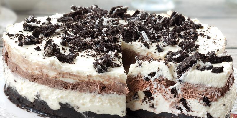 Oreokake - Vi blir aldri lei av denne populære kaken!
