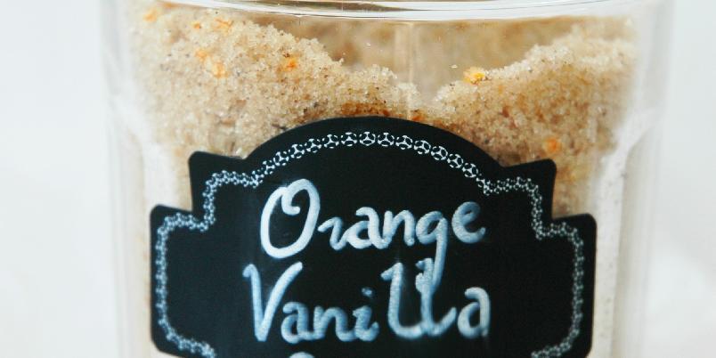 Appelsinsukker med vanilje - Dette er en perfekt gave å gi!