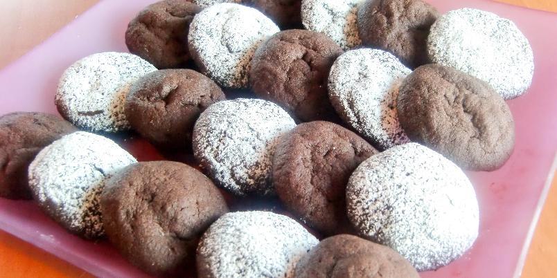 Espressokjeks - Er du glad i smaken av sterk kaffe og sjokolade, er dette småkakene for deg!