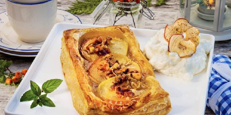 Rask pai med epler - Denne paien er helt nydelig!