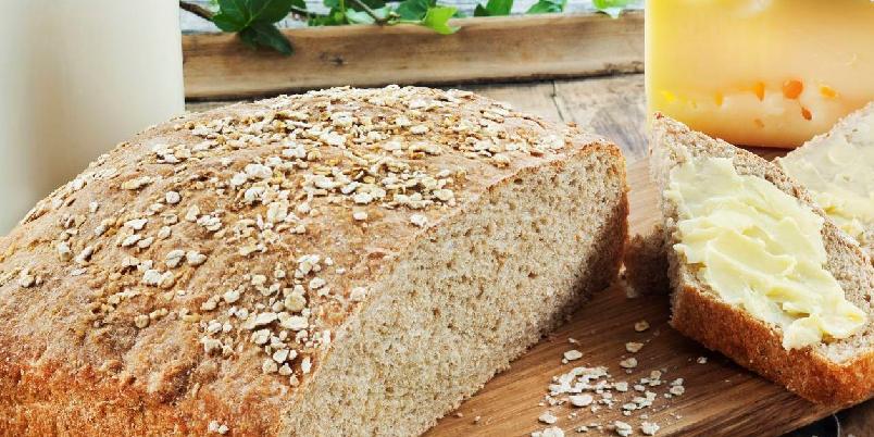 Havrebrød - Denne oppskriften gir to brød.