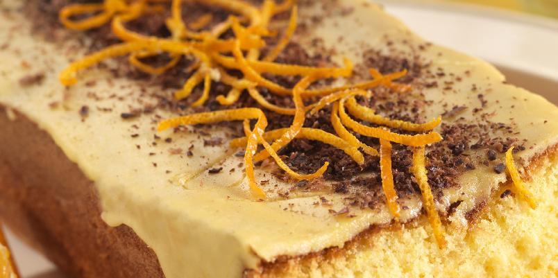 Glutenfri appelsinkake - Lett kake med deilig appelsinsmak.
