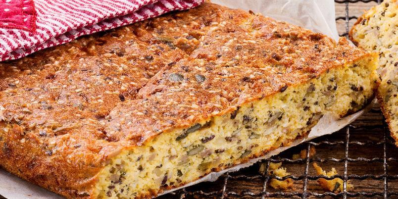 Glutenfritt brød med smak av jul - Denne deilige oppskriften gir ett brød.