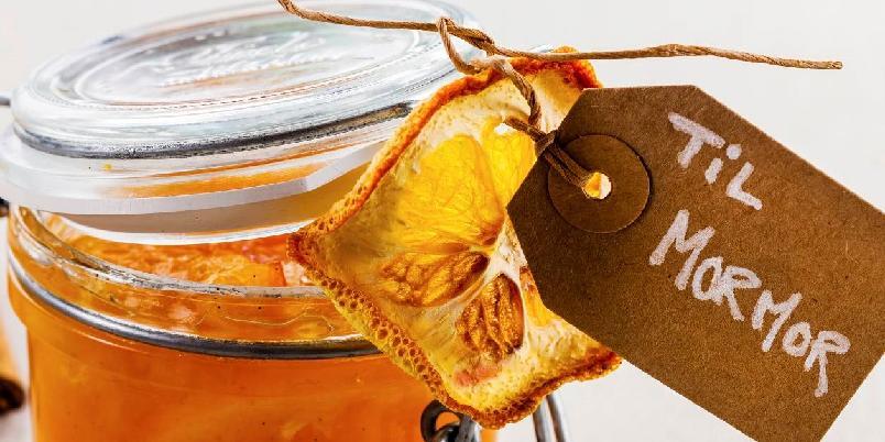 Appelsinmarmelade - Hjemmelaget appelsinmarmelade smaker nydelig og egner seg supert å gi bort i gave.