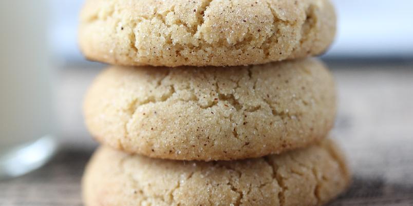 Snickersdoodles Cookies - Deilig, amerikanske kjeks som er nydelig sammen med et glass kald melk ...