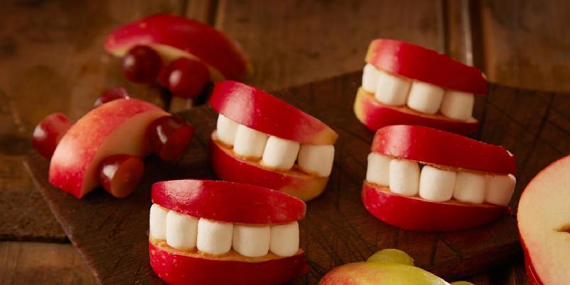 Eplesmil - Gjett om disse er populære å servere til barna!
