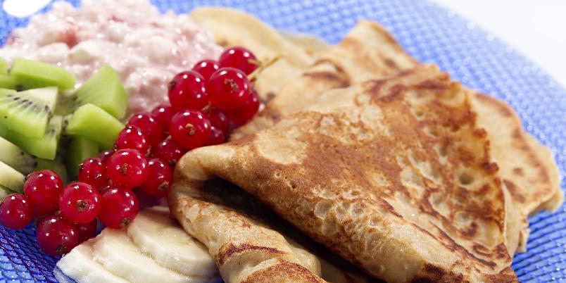 Grove pannekaker - Grove pannekaker er praktisk i en travel hverdag.