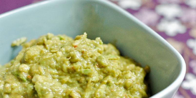 Enkel hjemmelaget guacamole -