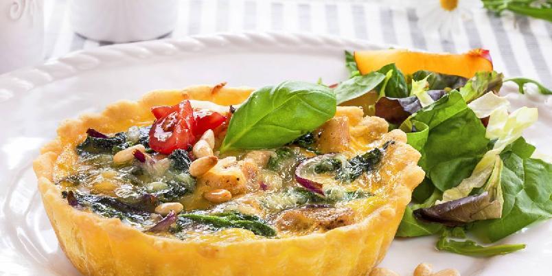 Kyllingpai - Perfekt pai du kan lage til lunsj, middag eller kvelds.