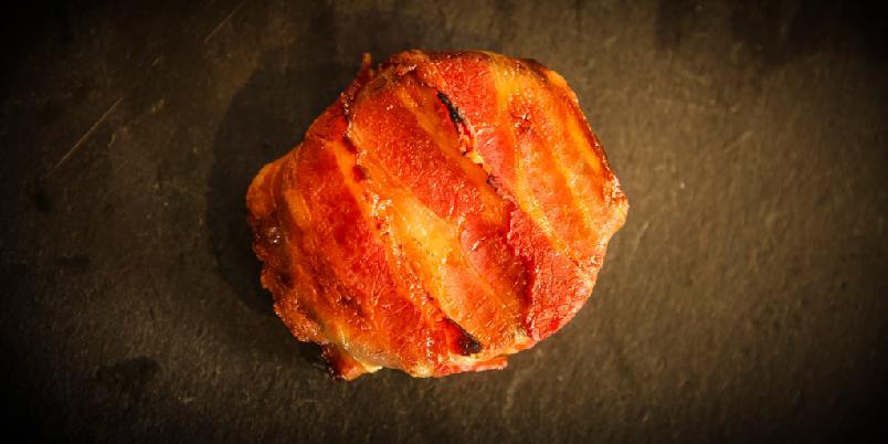 Baconbiter med overraskelse - Sannsynligvis en av de beste baconbitene du har smakt.