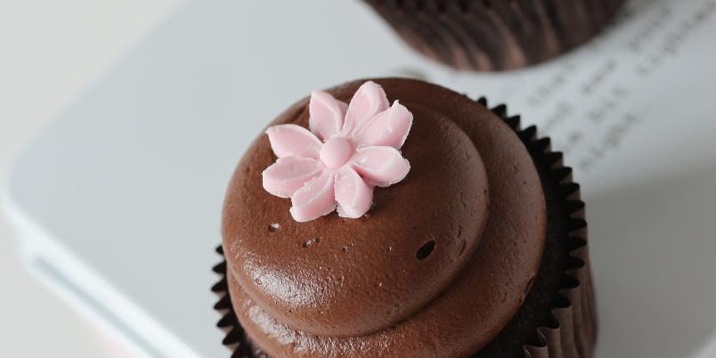 Luksuriøse cupcakes - Ja, du får også til slike lekre cupcakes!