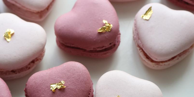 Valentine-makroner - Lag disse søte makronene til noen du er glad i.