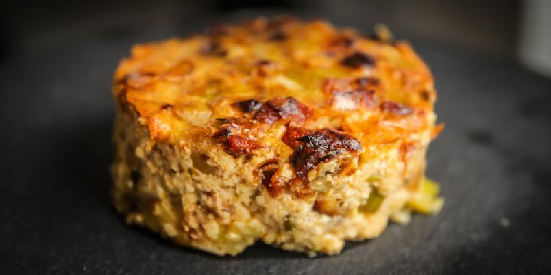 Omelett på ny måte - Dette er kulere måte å få digg omelett på.