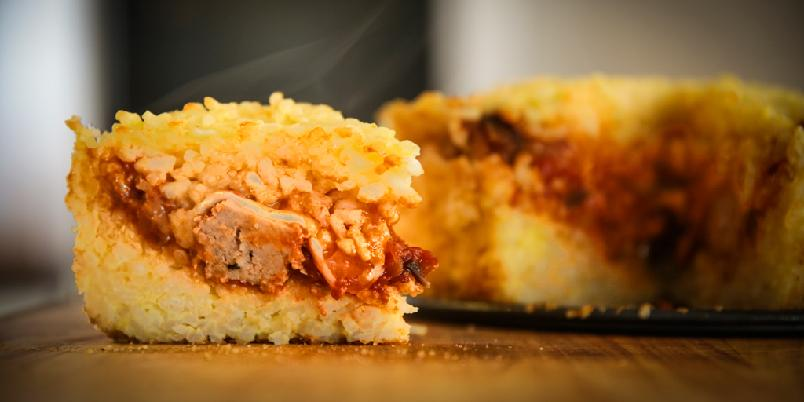 Risotto i kakeform - Dette er den morsomste risottoen du noensinne kommer til å lage.