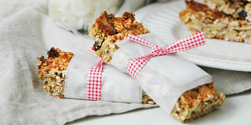 Supergode muslibarer - Sukkerfrie, glutenfrie, med lavt innhold av fett, men likevel så smakfulle! Perfekt som mellommåltid, som frokost på farten, eller rett og slett når du har lyst på noe godt som ikke tuller for mye med blodsukkeret!