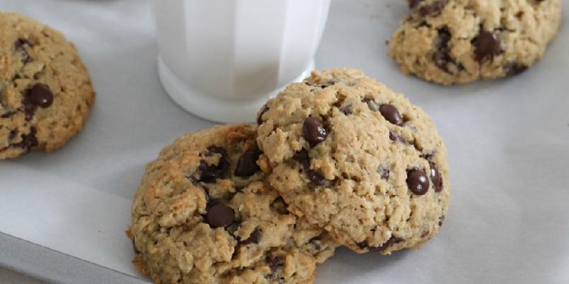 havrecookies oppskrift