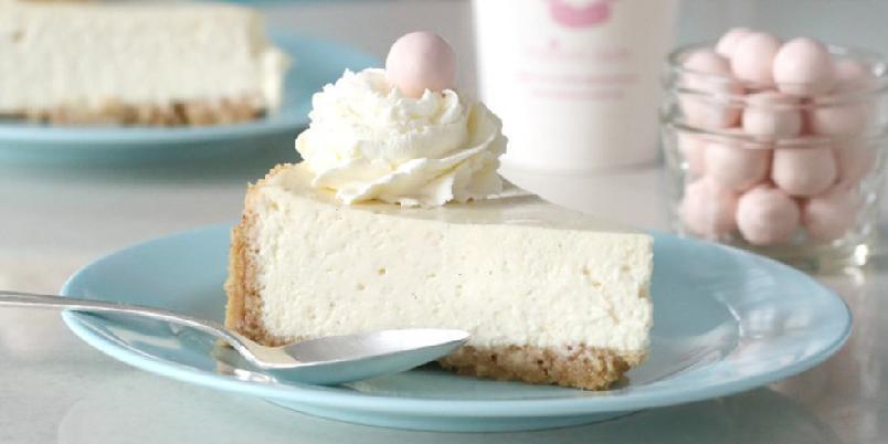 Vaniljeostekake - Smaker nesten som vaniljeiskrem!