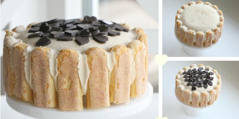 Iskake med kaffe - Denne kaken lager du på et kvarter..!