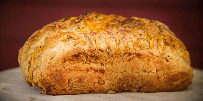 Hurtigbrød med øl - Dette brødet går veldig raskt å lage. En time og tre minutter tar det