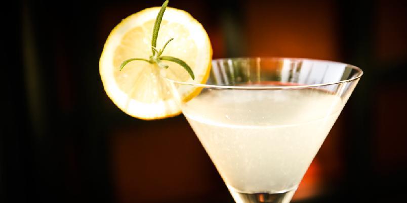 Drink med rosmarin - Du må like rosmarin for å elske denne drinken.
