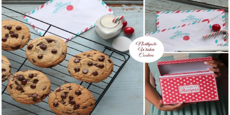 Cookies med sjokoladebiter og havsalt  - Disse sjokoladecookiesene passer perfekt som vertinnegave, eller som kos til kaffen.