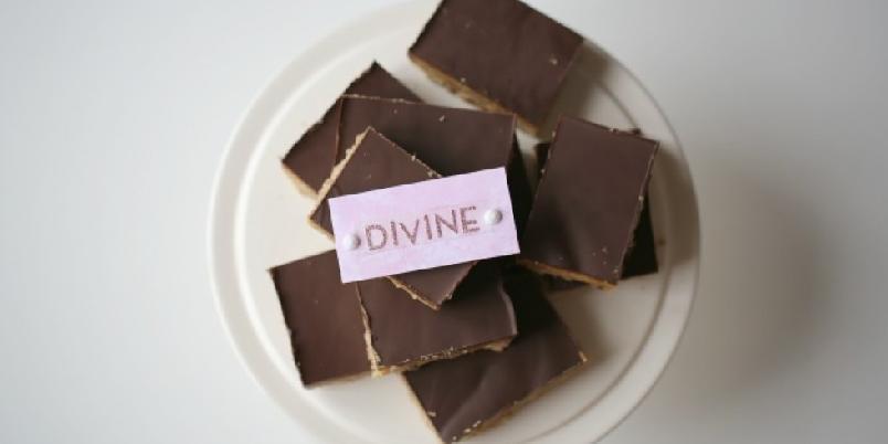Caramel slice - Deilig snacks fra Australia med sjokolade og karamell... mmm!