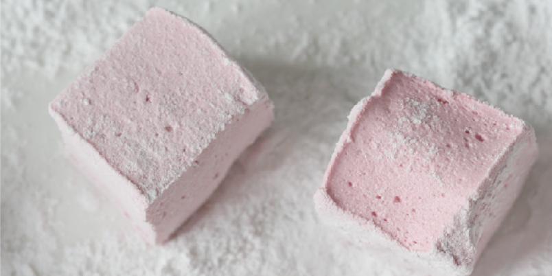 Marshmallows med bringebær - Lag dine egne fruktmarshmallows, og velg frukt eller bær selv.