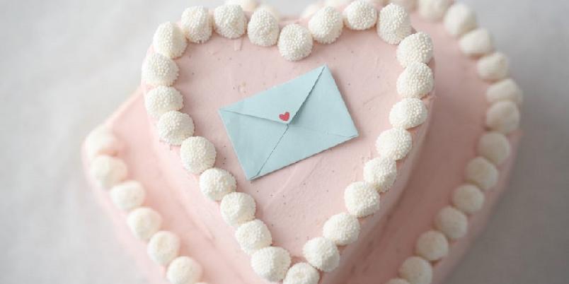 Rosa hjertekake - Denne kaken er perfekt til barnebursdag eller jentekvelden...