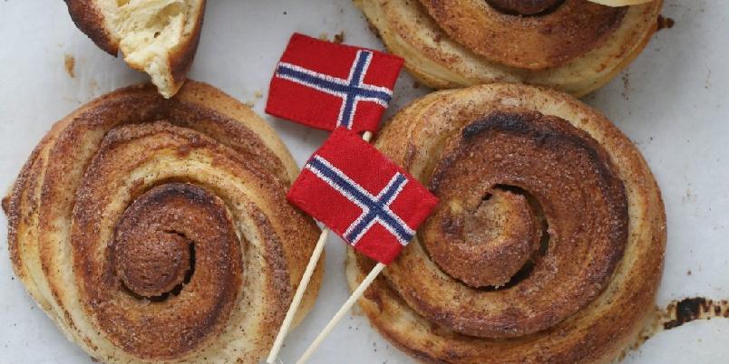 Bergens skillingsboller - Deilige skillingsboller å sette på bordet. Kanskje på selveste nasjonaldagen?