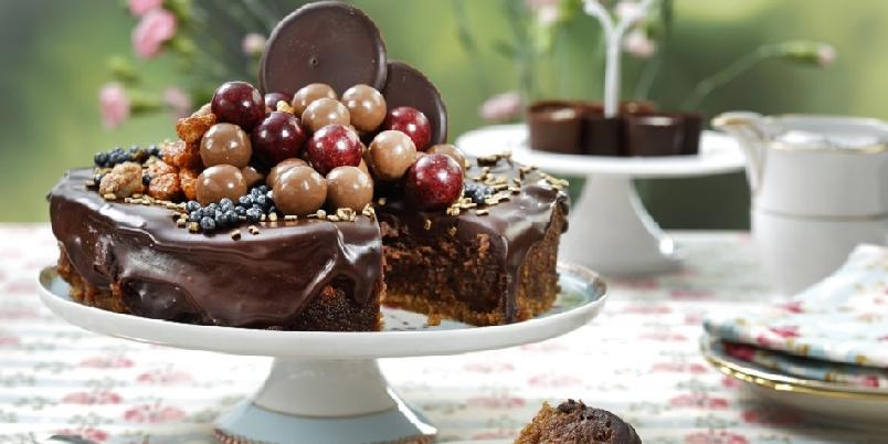 Nutella-ostekake - Luksusostekake med deilig smak av sjokolade...