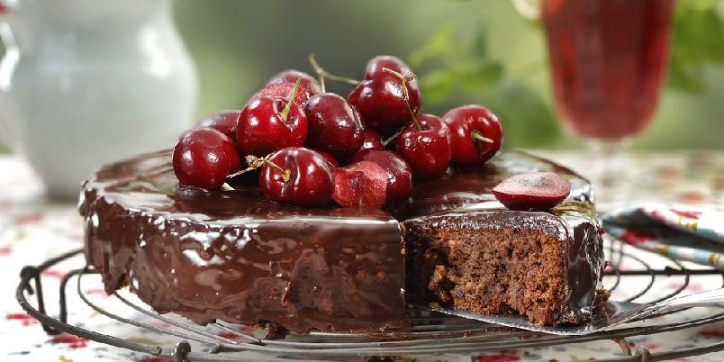 Fransk sjokoladekake - Denne er for alle som ikke får nok sjokolade!