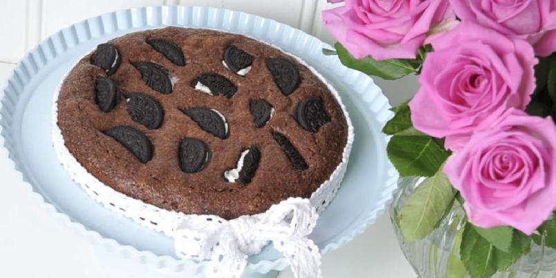 Oreobrownies - En enkel oppskrift fylt med barnas favorittsmak: sjokolade.