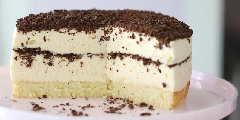 Dronning Maud fromasjkake - Dette er en kakevariant av den populære desserten.